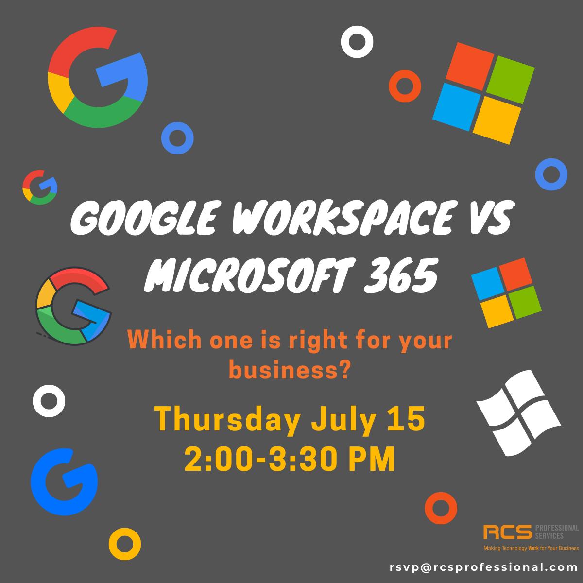 google workspace vs microsoft 365 webinar flyers (4)